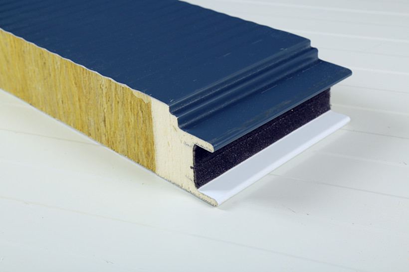 Insulated rockwool panels