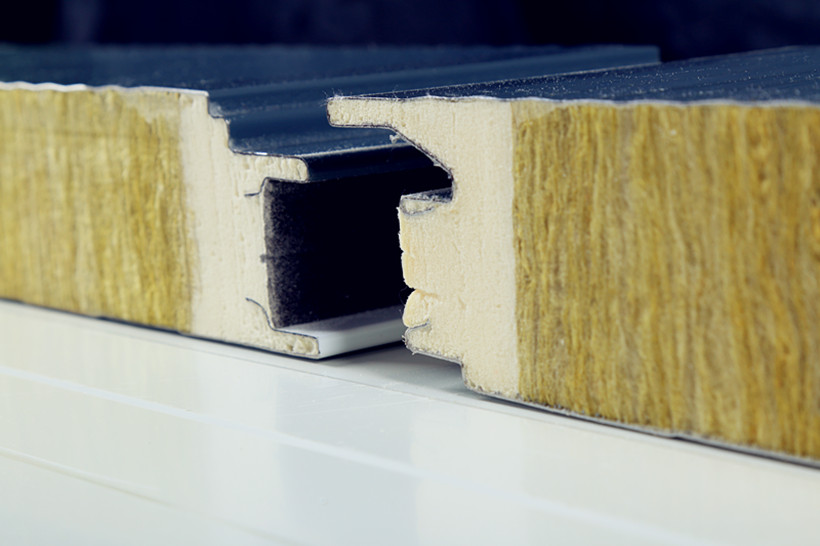 rock wool sandwich panels