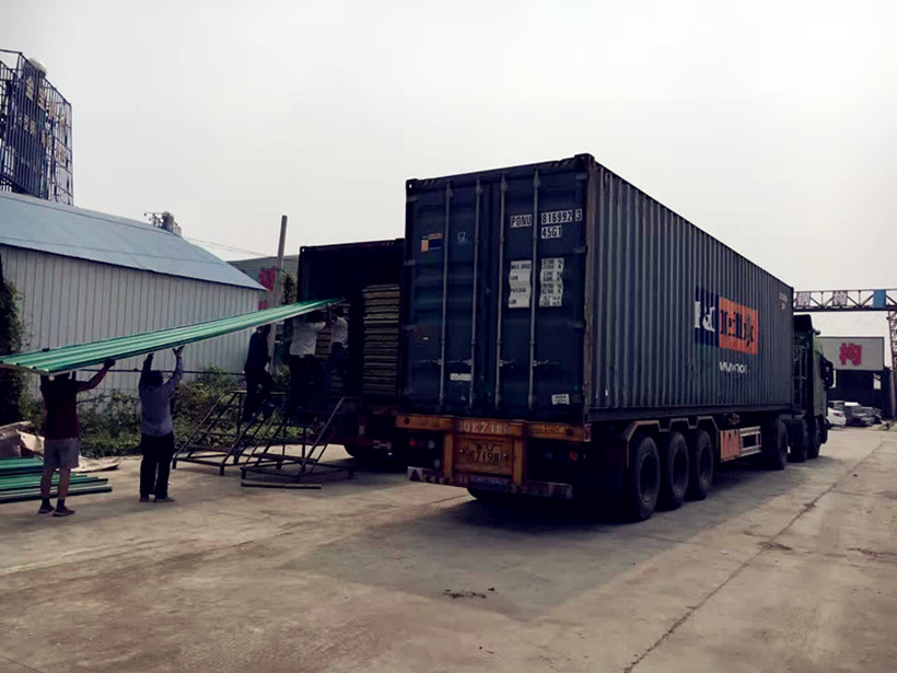 3000 Meters rock wool sandwich Panel Is On The Way To Ethiopia