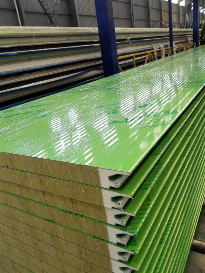 BRD Rock Wool Sandwich Panels Are Installing In Vietnam