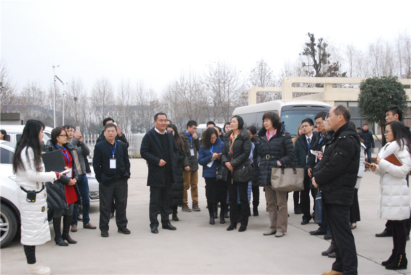 <b>Warming Welcome the Chinese Academy of Sciences and Municipal Leaders To Visit Our Company</b>
