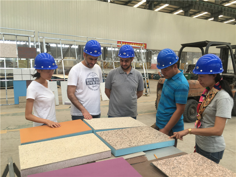 BRD Insulation Board Debut in Saudi Arabia