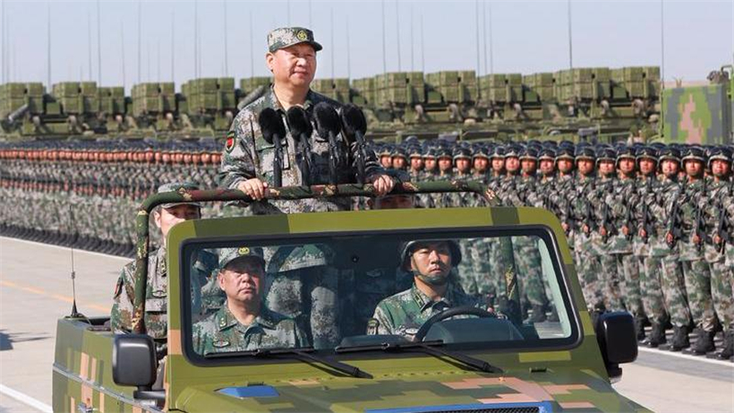 Military parade marks PLA's 90th birthday