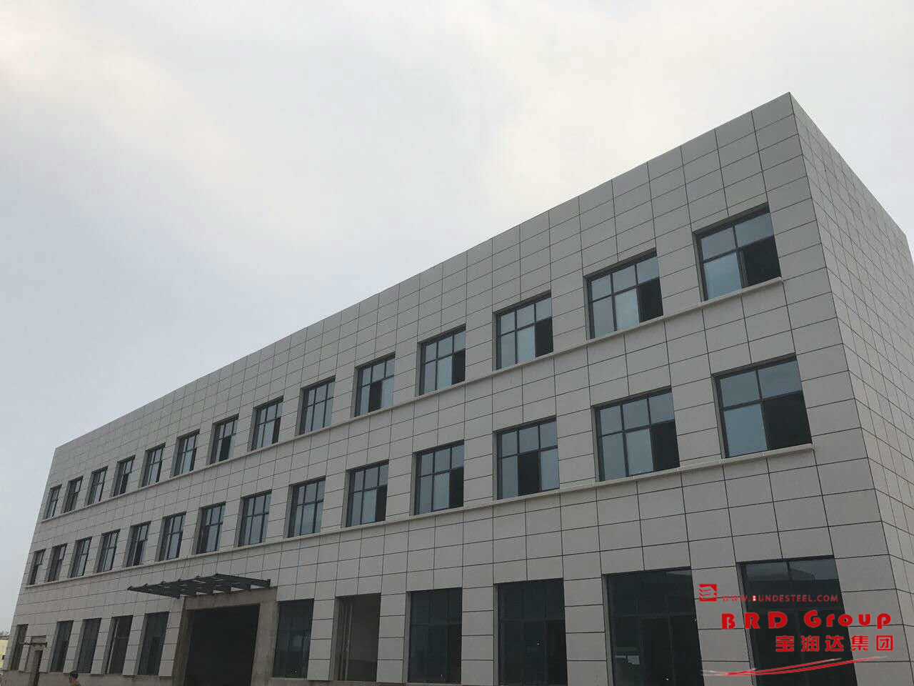 BRD's External Wall Cladding System Project