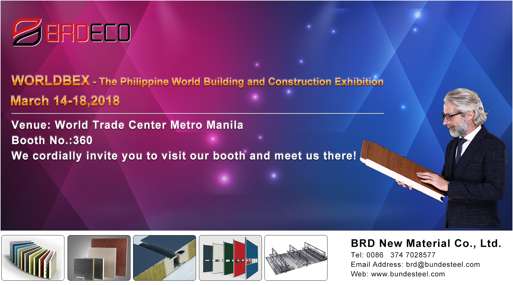 <b><font color='#660000'>WORLDBEX - The Philippine World Building and Construction Exhibition</font></b>