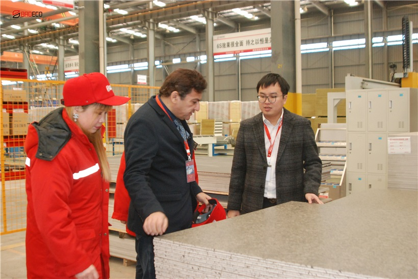 MR HAMDI FROM QATAR VISITS BRDECO FACTORY FOR COOPERATION