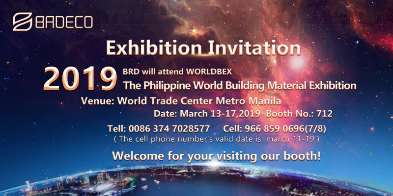 Welcome To Our Booth At WORLDBEX In Philippines
