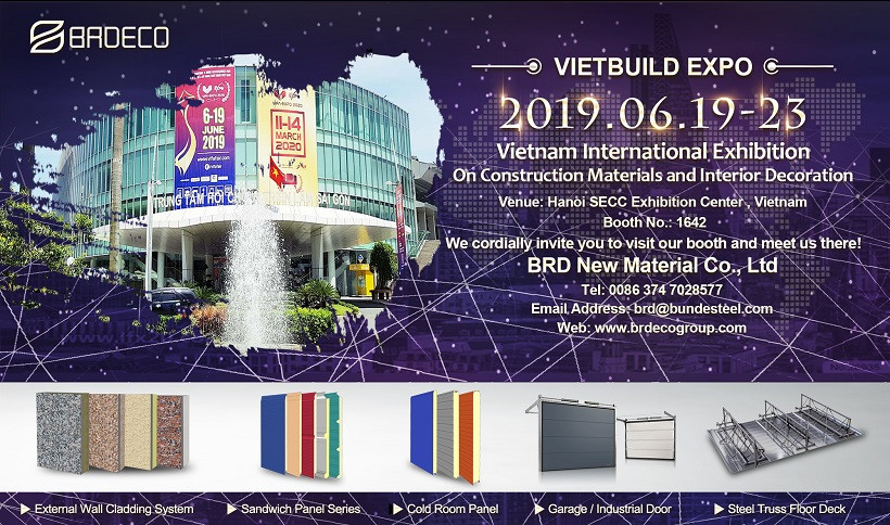 BRD Will Take Part In 2019 VIETBUILD EXPO